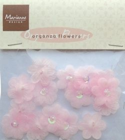 MD: Organza Flowers; Pink