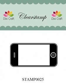 Dixi: Clear stamp; Smartphone