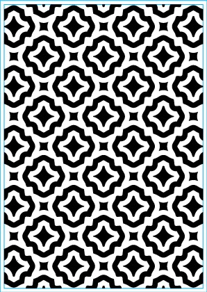 Elizabeth Craft Design: Embossing Folder; Trendy Tiles 1