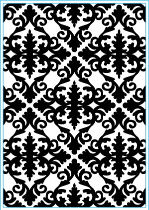 Elizabeth Craft Design: Embossing Folder; Damask