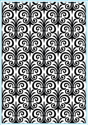 Elizabeth Craft Design: Embossing Folder; Fleur de Lis