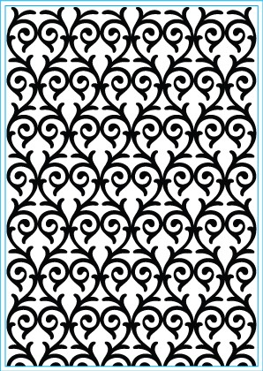Elizabeth Craft Design: Embossing Folder; Hearts Entwined
