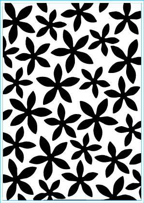 Elizabeth Craft Design: Embossing Folder; Petal Power