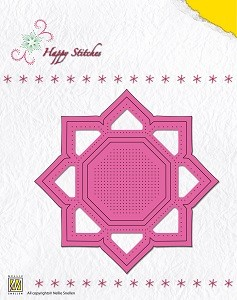 NS: Happy Stitching Die; Flower 1