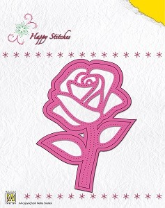 NS: Happy Stitching Die; Rose