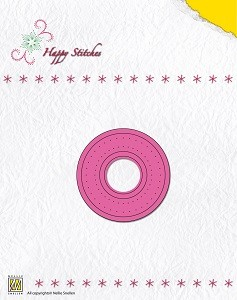 NS: Happy Stitching Die; Circle