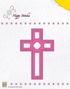 NS: Happy Stitching Die; Cross