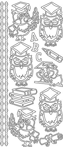 JeJe sticker: ABC Owls