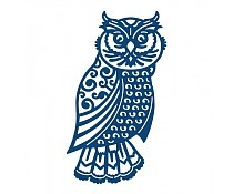 Tattered Lace: Large Ornate Owl
