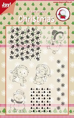 Joy!: Clear Stamp; Kerstbeen