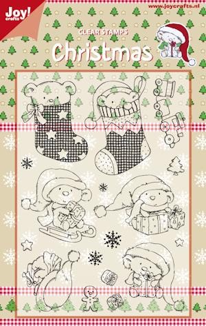 Joy!: Clear Stamp; Kerstberen