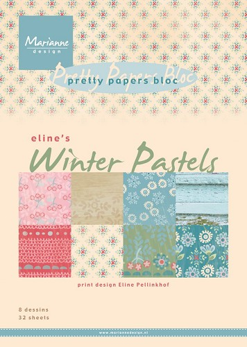 MD: Paperpad Eline`s Winter Pastels