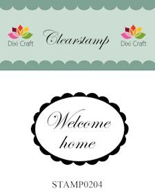Dixi Clear Stamp: Welcome home