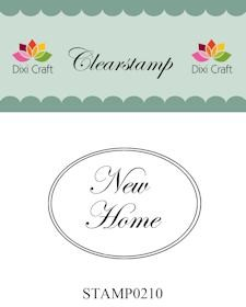 Dixi Clear Stamp: New Home