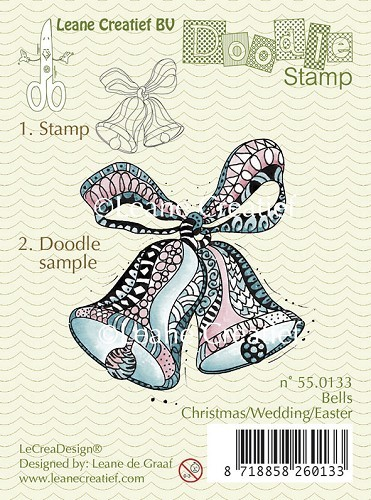 Leane: Doodle clear stamp; Christmas Bells / Wedding / Easter