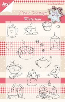 Joy!: Clear Stamp; Wintertime 02