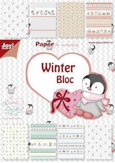 Joy!: Papier blok A5; Winter