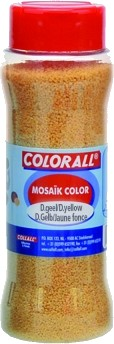 Colorall: Decoratie grind; DONKERGEEL