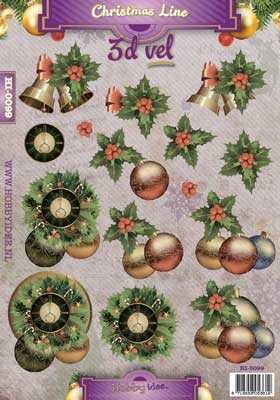 HI: Christmas Line; Bells and Baubles