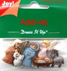 Joy!: Band-It; Add-ies, 6 x kerststal
