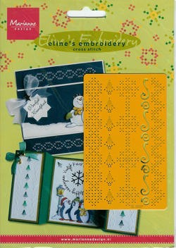 MD: Eline`s embroidery; cross stitch, rechthoek