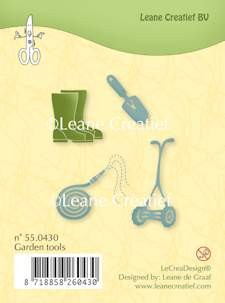 Leane: Clear Stamp; Garden Tools