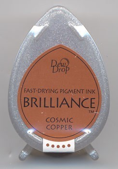 Dew Drop Brilliance: COSMIC COPPER