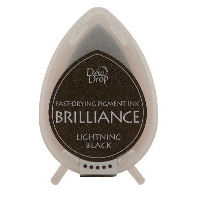 Dew Drop Brilliance: LIGHTNING BLACK