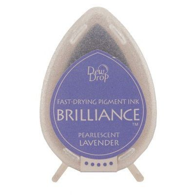 Dew Drop Brilliance: PEARLESCENT LAVENDER