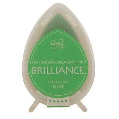 Dew Drop Brilliance: PEARLESCENT LIME