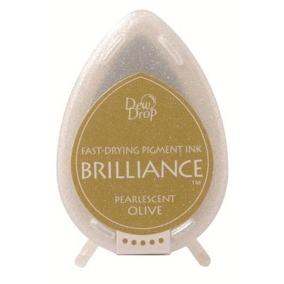 Dew Drop Brilliance: PEARLESCENT OLIVE