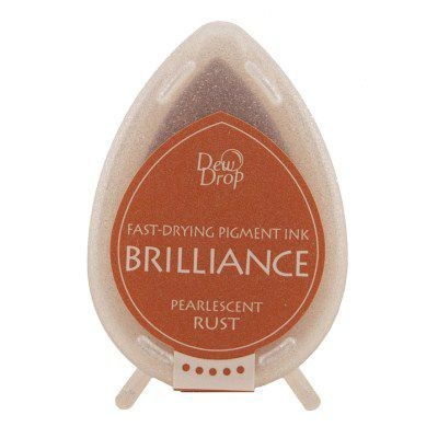 Dew Drop Brilliance: PEARLESCENT RUST