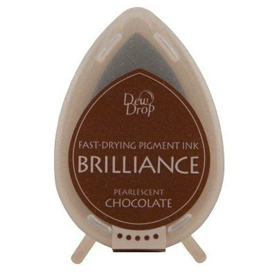 Dew Drop Brilliance: PEARLESCENT CHOCOLATE