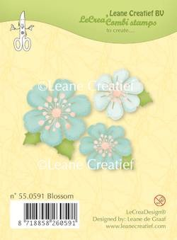 Leane: Clear stamp; Blossom