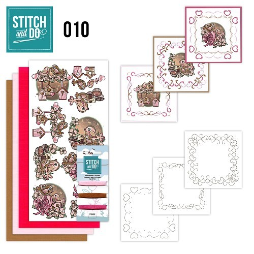 Stitch & Do 10: Moederdag