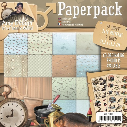 Amy Design - Its a Mans World; Paperpack