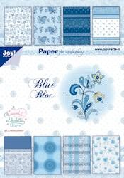 Joy!: Papierbloc; Blue Bloc