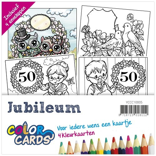 Color Cards 5: Yvonne Creations; Jubileum
