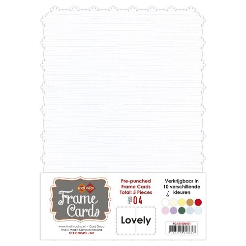 Frame Cards: Lovely; Wit