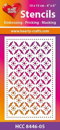 Hearty Crafts Stencil: Retro