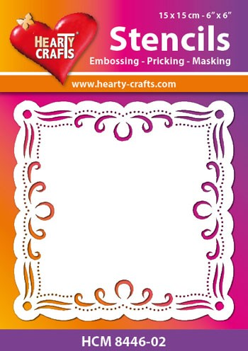 Hearty Crafts Stencil: Slingers