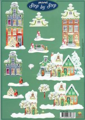 Picturel: Kerstgevels - Dutchhouses