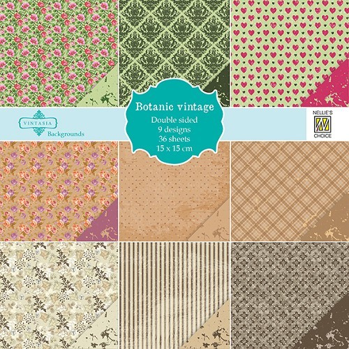 Nellie`s Paperpad: Choice of Vintage