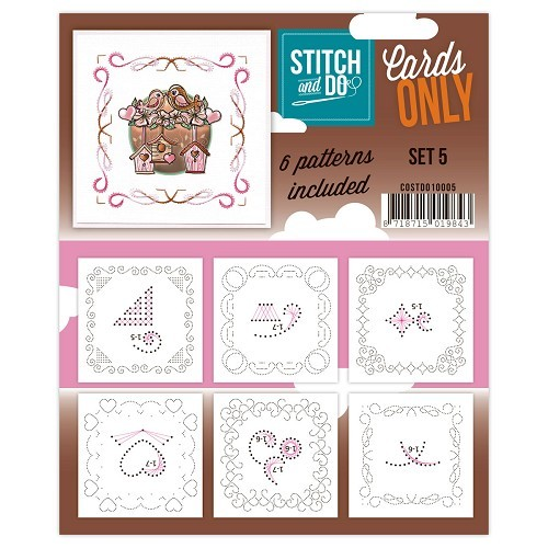 Stitch & Do: Cards only; set 5