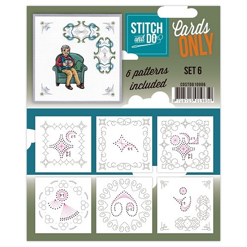 Stitch & Do: Cards only; set 6