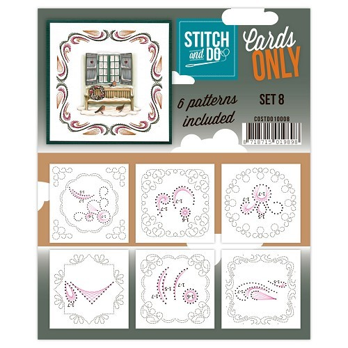 Stitch & Do: Cards only; set 8