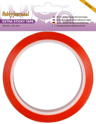 Hobbyjournaal: Extra Sticky Tape - 15 mm