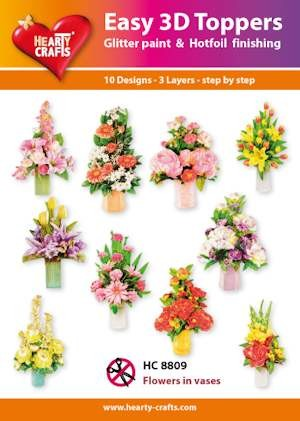 HC: Easy 3D; Flowers in Vases