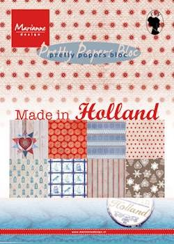 MD: Pretty papers Bloc A5; Made in Holland