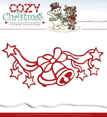 Yvonne Creations: Cozy Christmas; Die; Jingle Bells